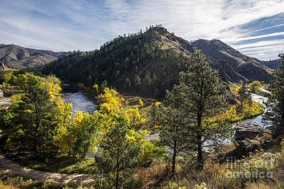 Color On The Poudre Print by Keith Ducker