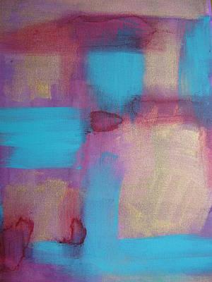 Color Ribbon Print by Lindie Racz