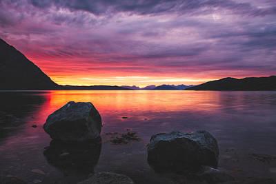 Color Rocks Print by Tor-Ivar Naess
