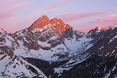 Crestone Photograph - Colorado 14ers Crestone Needle And Crestone Peak by Aaron Spong