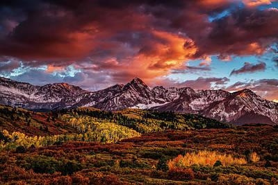 Mountain Photograph - Colorado Color by Andrew Soundarajan