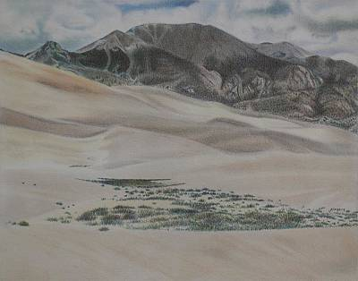 Colorado Dunes Print by Scott Kingery