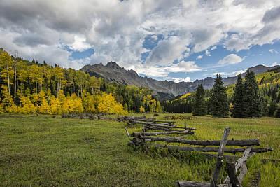 San Juan Mountain Range Photograph - Colorado Fall Time by Jon Glaser