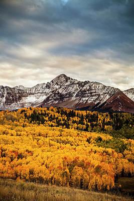 Colorado Gold Print by Andrew Soundarajan