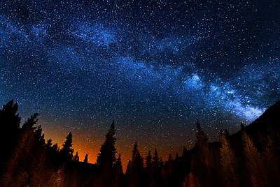 Beauty Mark Photograph - Colorado Milky Way by Mark Andrew Thomas