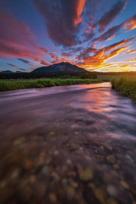 Colorado Morning Print by Darren White