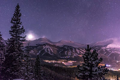 Colorado Night Print by Michael J Bauer