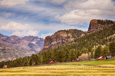 Wolf Creek Photograph - Colorado Western Landscape by James BO  Insogna