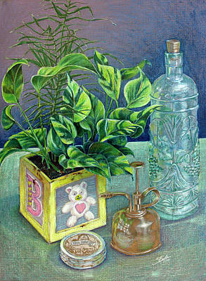 Colored Pencil Still Life Print by Stephen Boyle