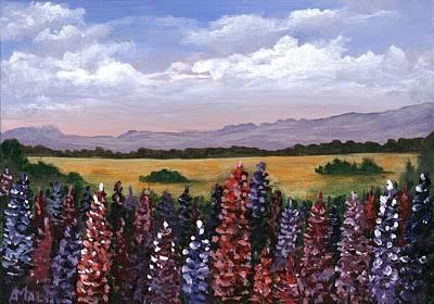 Painting - Colorful Afternoon by Anastasiya Malakhova