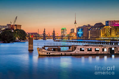 Mauer Photograph - Colorful Berlin by JR Photography