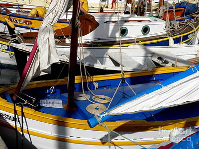 St.tropez Photograph - Colorful Boats by Lainie Wrightson