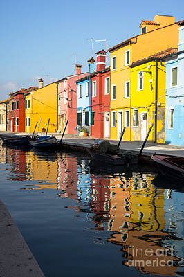 Colorful Burano Print by Prints of Italy