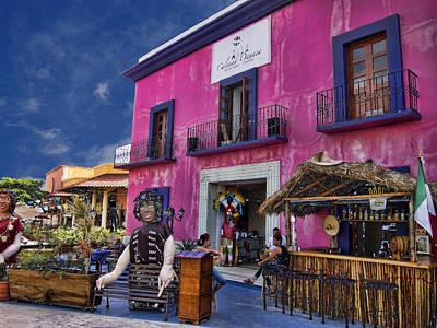 Colorful Cancun Print by Douglas Barnard