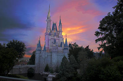 Magic Kingdom Photograph - Colorful Magic by Ryan Crane