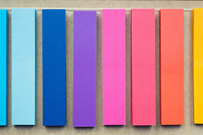 Abstarct Photograph - Colorful Paper by Tom Gowanlock