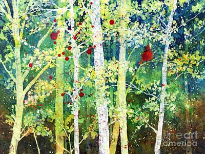 Colorful Presence Original by Hailey E Herrera