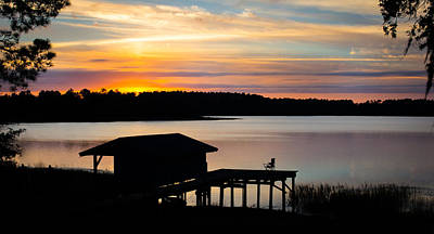 Water Photograph - Colorful Warmth Panorama by Parker Cunningham