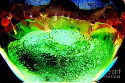 Luminous Globe Photograph - Colorful World.. by Jolanta Anna Karolska