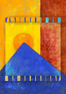 Circles Digital Art - Colorgraph by Carol Leigh
