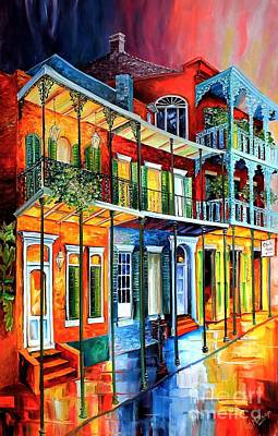 Colors Of The French Quarter Original by Diane Millsap