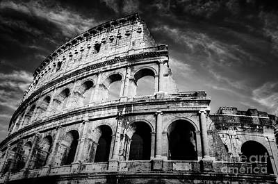 Europe Photograph - Colosseum In Rome by Michal Bednarek