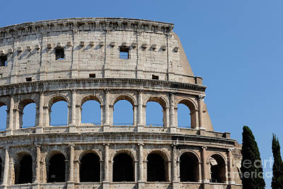 Colosseum Or Coliseum Print by Edward Fielding