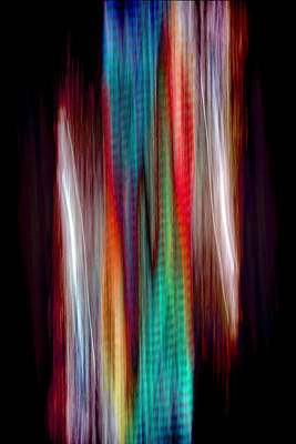 Merging Painting - Colour Stream by Roger Turley