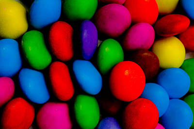 Sweet Digital Art - Colourful Abstract by David Pyatt