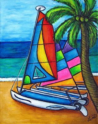 Colourful Hobby Print by Lisa  Lorenz