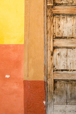 Minimalism Photograph - Colours Of San Miguel De Allende by Rob Huntley