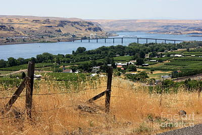 Columbia River - Biggs And Maryhill State Park Print by Carol Groenen