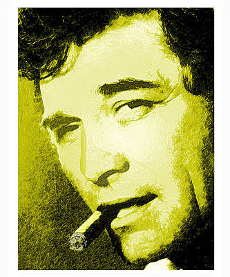 Peter Falk Digital Art - Columbo by Byron Furgol