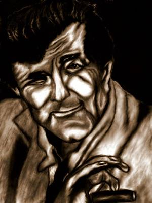 Peter Falk Drawing - Columbo by Herbert Renard