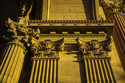 Classicism Photograph - Columns Of The Palace Of Fine Arts by Garry Gay