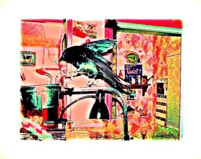 Crow Dance Print by YoMamaBird Rhonda