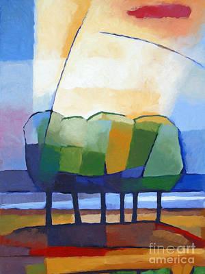 Baar Painting - Come Spring by Lutz Baar