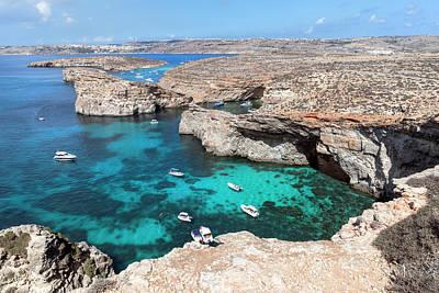 Malta Photograph - Comino by Joana Kruse