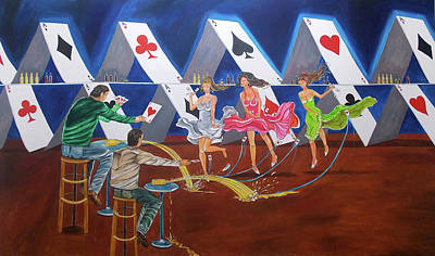 Painting - Comission Work by Lazaro Hurtado