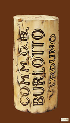 Comm.gb Burlotto Print by Guido Borelli