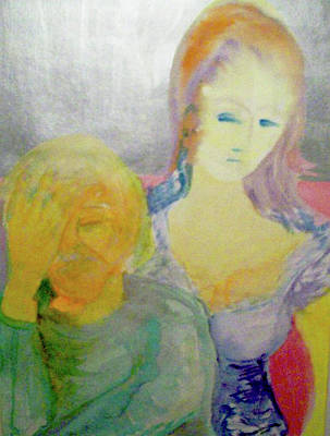 Modesto Painting - Compassion by James Christiansen