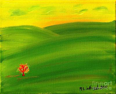 Concord California Spring 1 Original by Richard W Linford