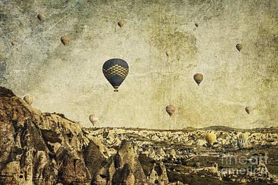 Concrete Skies Print by Andrew Paranavitana
