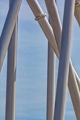 Roller Coaster Photograph - Coney Island_detail - Roller Coaster by Robert Ullmann