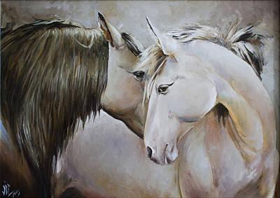 Impresionism Painting - Confesion by Vali Irina Ciobanu