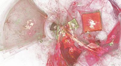 Apophysis Mixed Media - Confetti by Bonnie Bruno