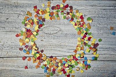 Confetti Circle Print by Nailia Schwarz