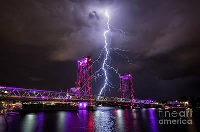 Lightning Photograph - Connectivity by Scott Thorp