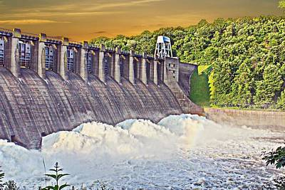 Connemaugh Dam Print by Brian Hamilton
