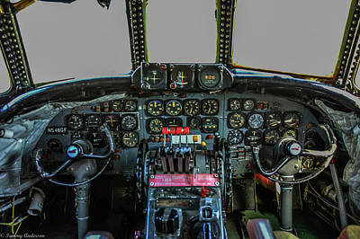 Photograph - Connie Cockpit by Tommy Anderson